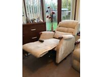 Rise and recline recliner chair