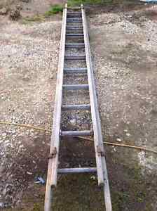 Antique extension ladder. Avoca Pyrenees Area Preview