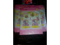 1st birthday room decorating kit 10 pieces in pink or blue