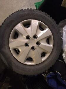 Winter Tires Nokian Hak 2 205/65 R15 studded in great condition
