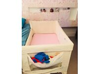 Used Arms Reach Universal Co Sleeper cot bed