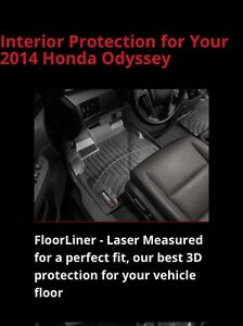 Weathertech mats for 2014 Honda Odyssey