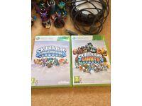 SKYLANDERS Xbox 360 Games + FIGURES