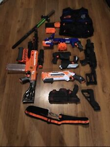 Nerf tons of nerf (value of about 400$)