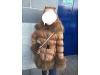 Romany girls two fur trim to fit 10yrs