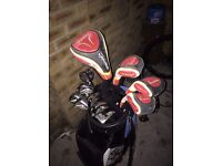 Full set of Taylormade Burner irons and woods