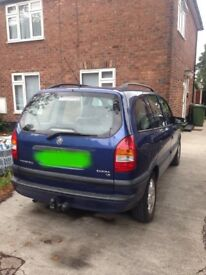 Zafira 1.8 long mot