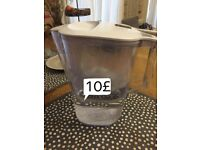 BRITA Aluna Water Filter Jug - standard 2.4 L White