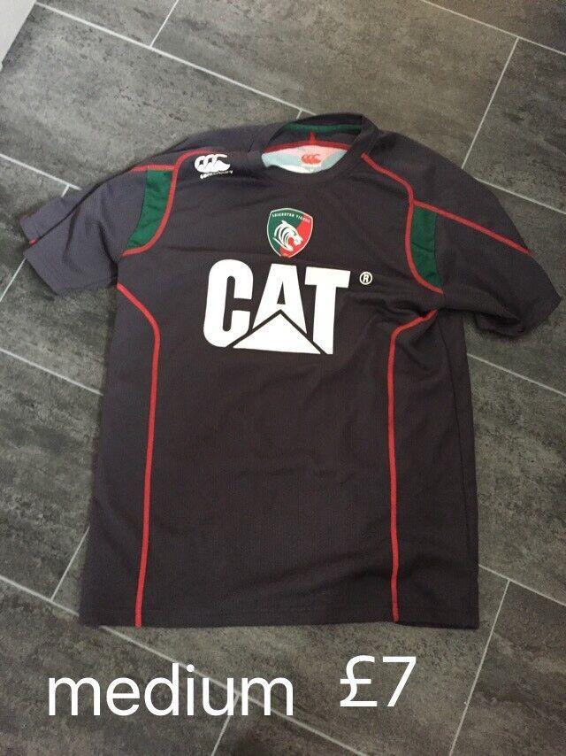 Leicester Tigers shirt medium