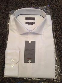 John Lewis long sleeve white shirt