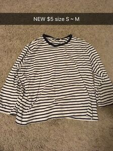 (NEW) size S ~ M shirt