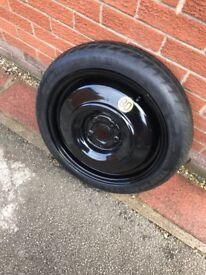Toyota verso spare wheel