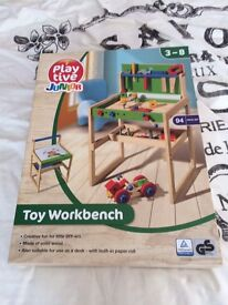 Play Tive Toy Wooden Workbench