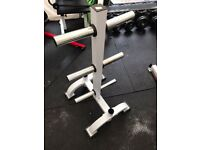 Hardcastle olympic weight rack with bar holders
