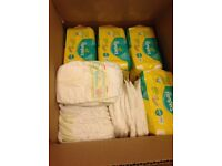 Pampers micro nappies