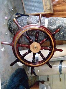 Ship wheel Strathcona County Edmonton Area image 1