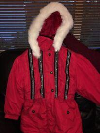 Age 5/6 Girls Winter Jacket