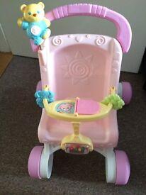 Baby toy pushchair/walker Vtech
