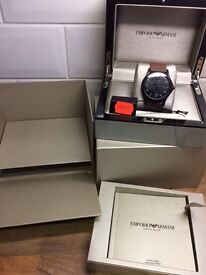 Men's genuine Emporio Armani watch.