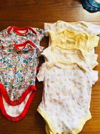 6 3 - 6 months boys summer vests