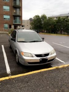2002 Mazda Protege Very Low KMs!