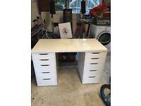 Ikea dressing table/ drawers/ desk