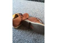 New clarks originals boys boots size 13G