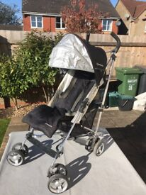Uppababy Designer Pushchair with raincover