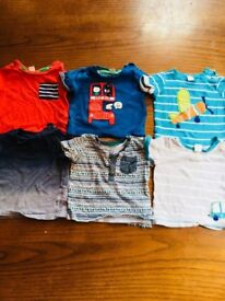 6 - 9 months boys t-shirts