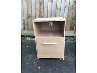 Bedside table/small filing cabinet