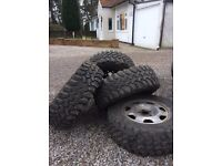 Mud terrain/ off road/ 4x4 tyres