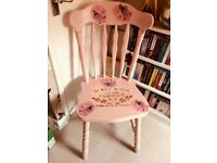 Heavy farmhouse chair