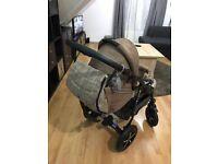Pram pushchair 3 in 1 from Baby Merc
