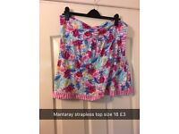 Women's size 16 and 18 tops
