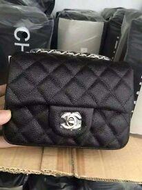 Chanel Mini Caviar Leather Flap Bag