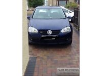 Vw golf gt tdi mrk5 3dr 140