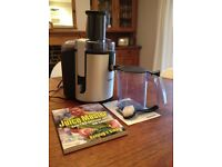 Phillips HR1861 Professional Whole Fruit JUICER + accessories - hardly used (RRP £189)