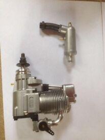 Model aircraft engine