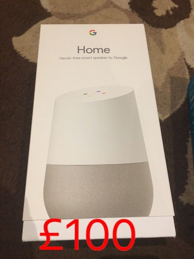 brand new sealed in box google home
