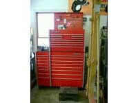 Snap on tool box tool chest roll cab
