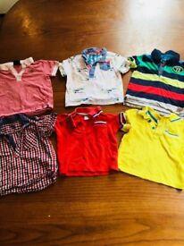9 - 12 months boys polo shirts