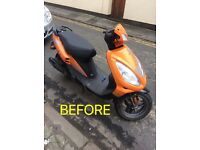 ** 50cc moped **