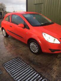Vauxhall Corsa D 1.2 petrol full years test. (Not fiesta 107 207)