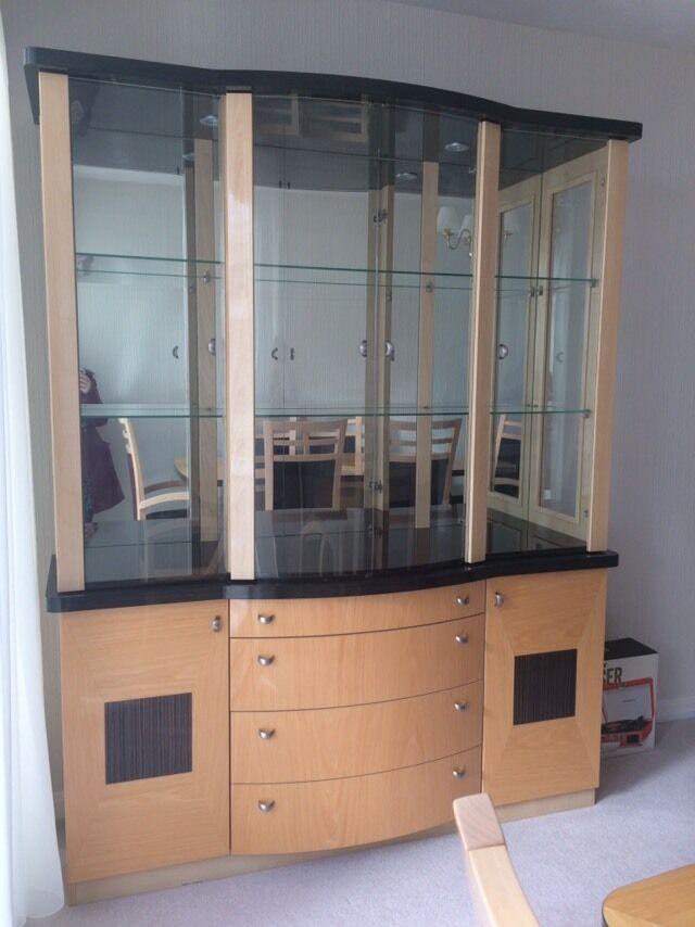 Harvey's Sienna range display unit.