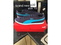 Puma trainners brand new