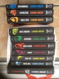 Set Anthony Horrowitz books
