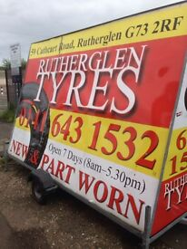 New & Part Worn Tyres, Great tyres @ great prices, Guaranteed MOT pass, Most makes & sizes, Call Now