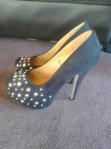 Size 10, black studded stiletto heel. Burnie Burnie Area Preview