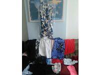 job lot bundle of woman's clothing 12 - 14 resale ebay