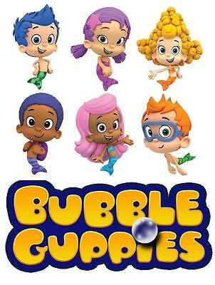 Bubble Guppies # 12 - 8 x 10 - T Shirt Iron On - Bubble Guppies Fabric